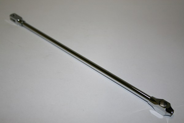 Gazelle Brake Rod 240mm - Brass / Chrome