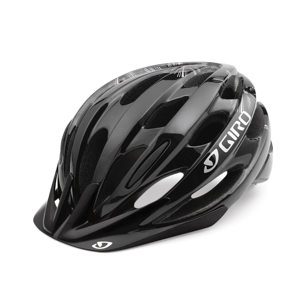 Giro Revel Cycling Helmet - Black Flowers Unisize 54-61 cm