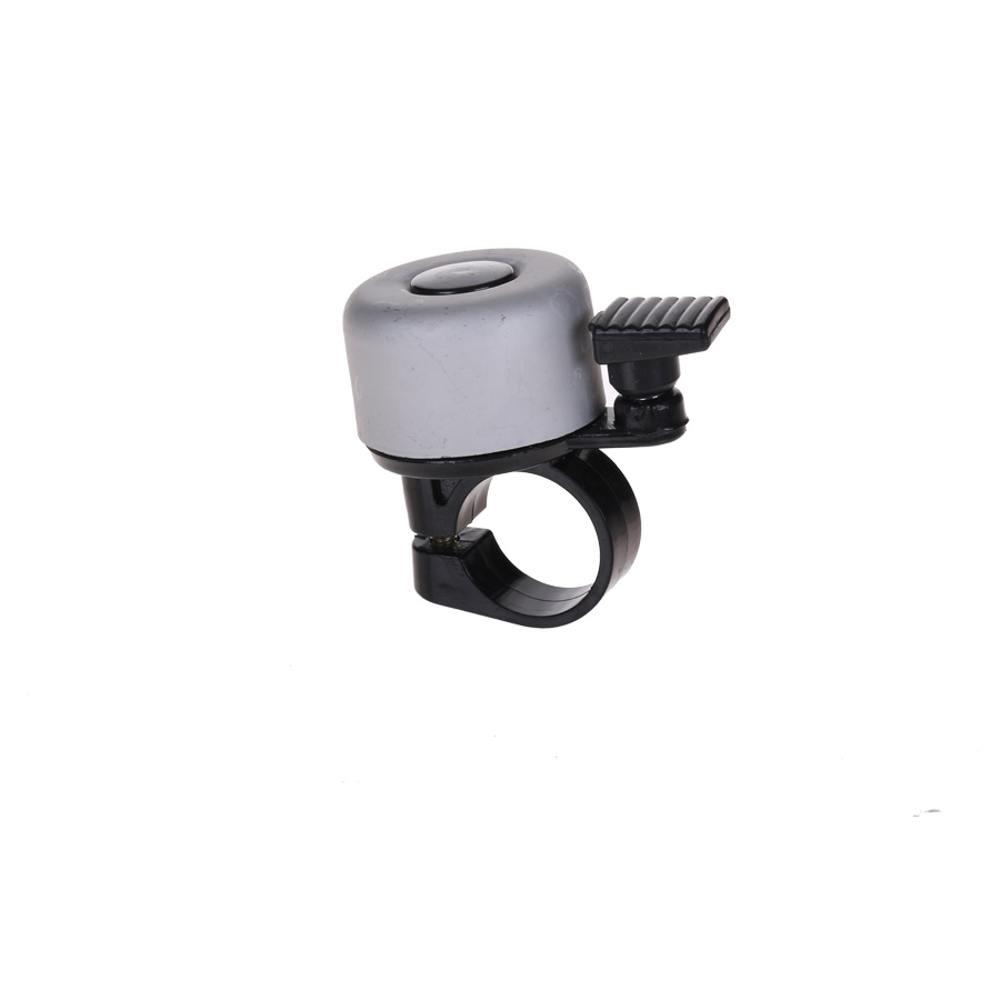 HBS Bicycle Bell Mini Aluminum Gray