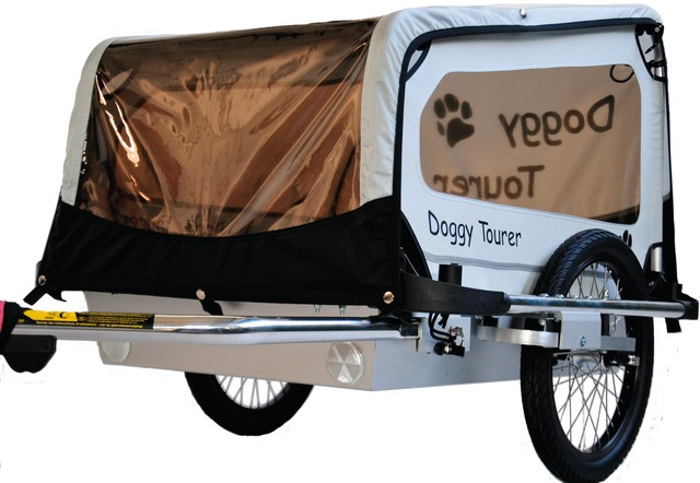 Kids Touring Dog Cart Doggy Tourer S - Silver/Black