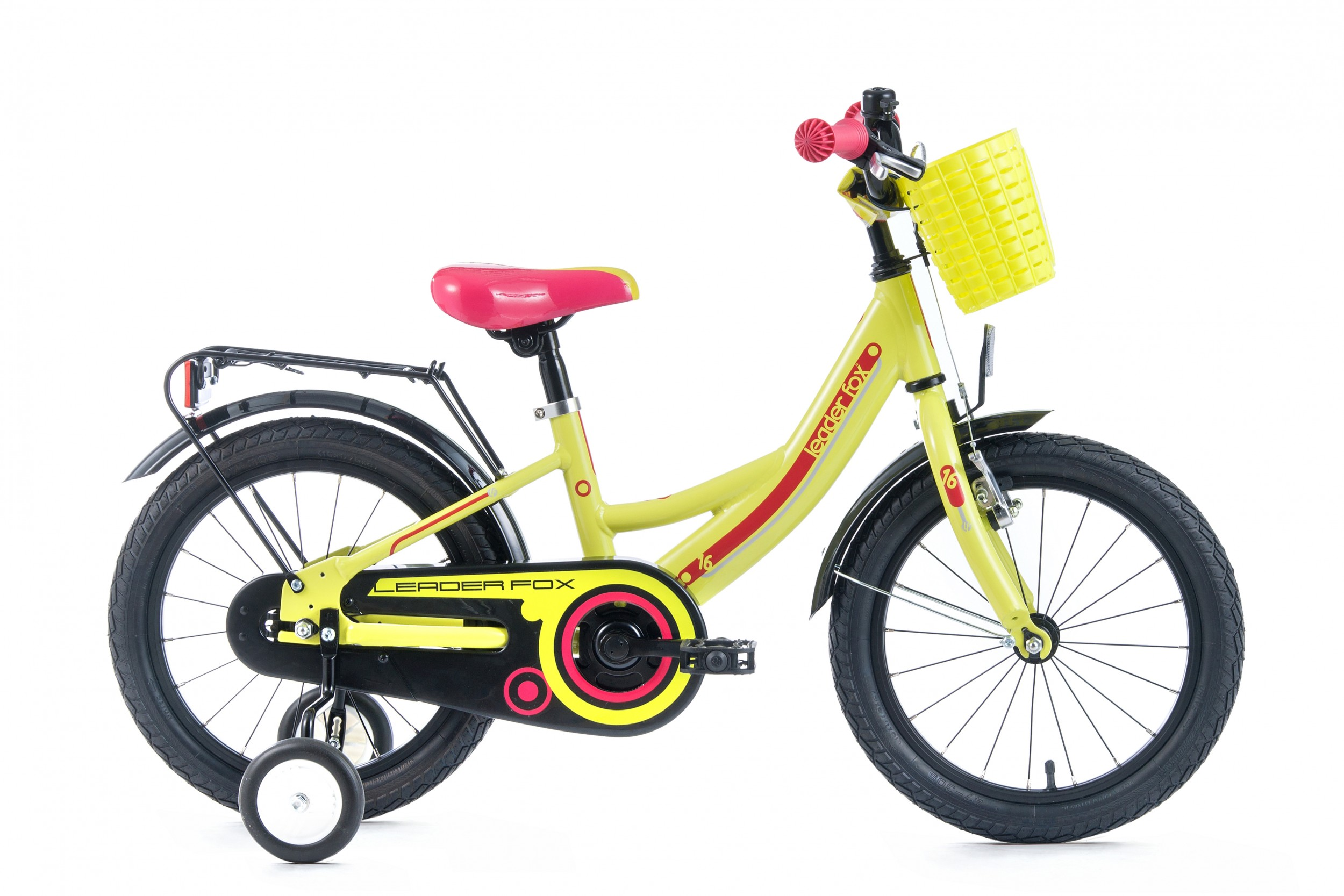 Leader Fox Busby Girls Bicycle 16 Inch 23cm - Green