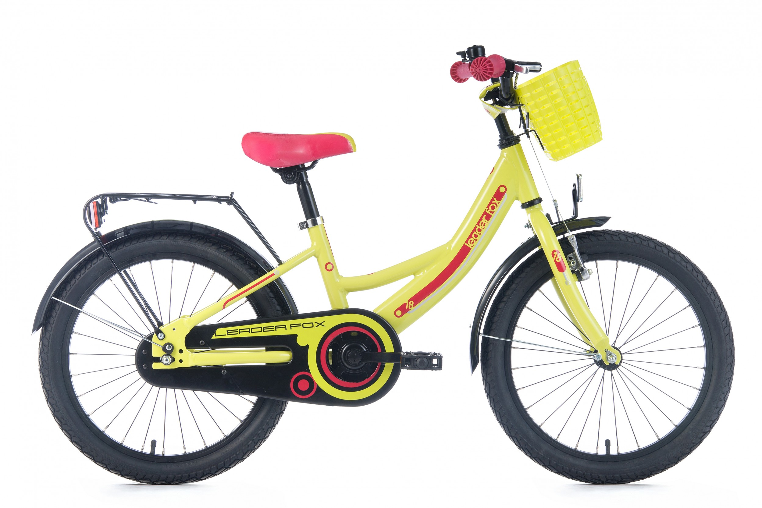 Leader Fox Busby Girls Bicycle 18 Inch 25cm - Green