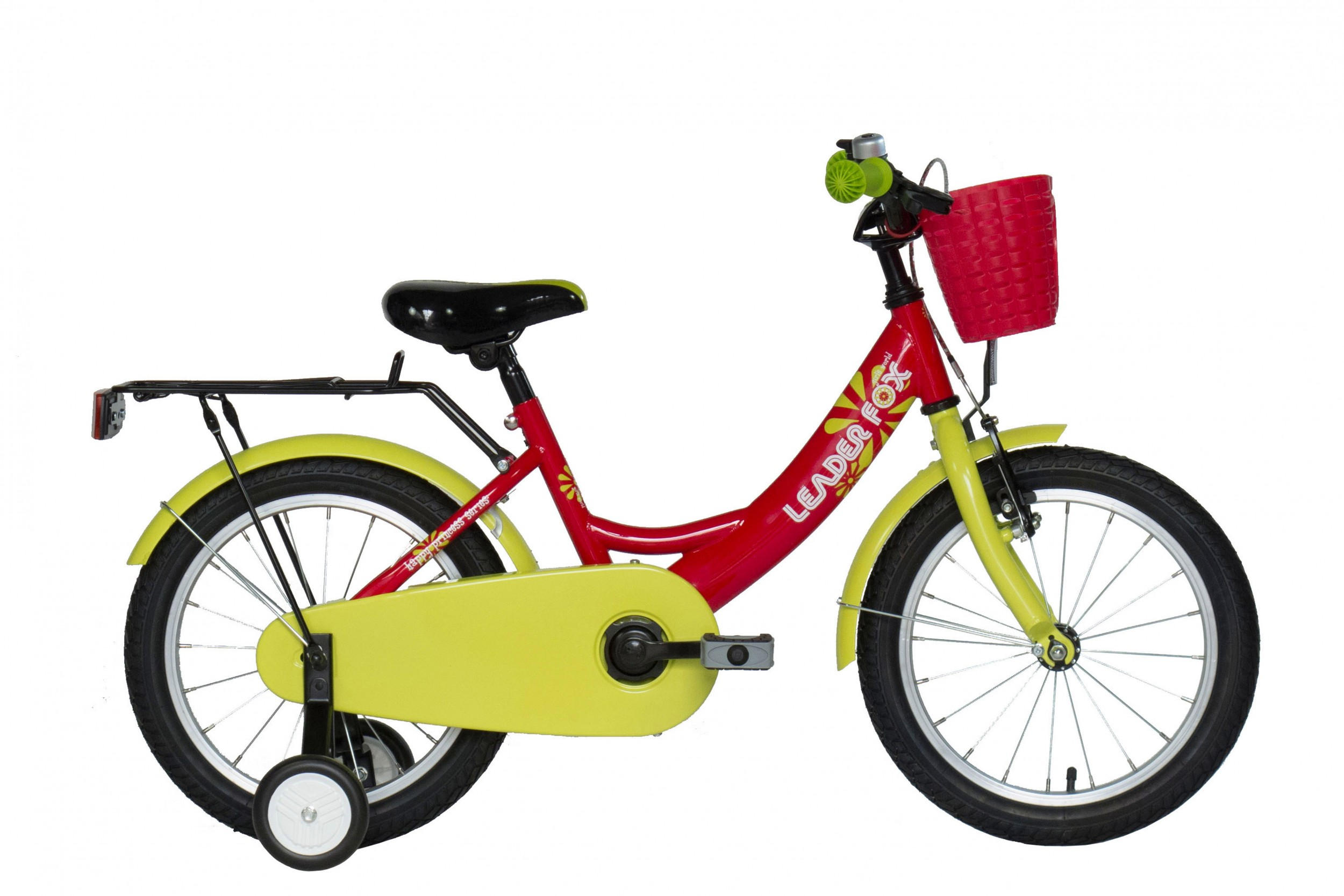 Leader Fox Pony Girls Bicycle 16 Inch 23cm - Red