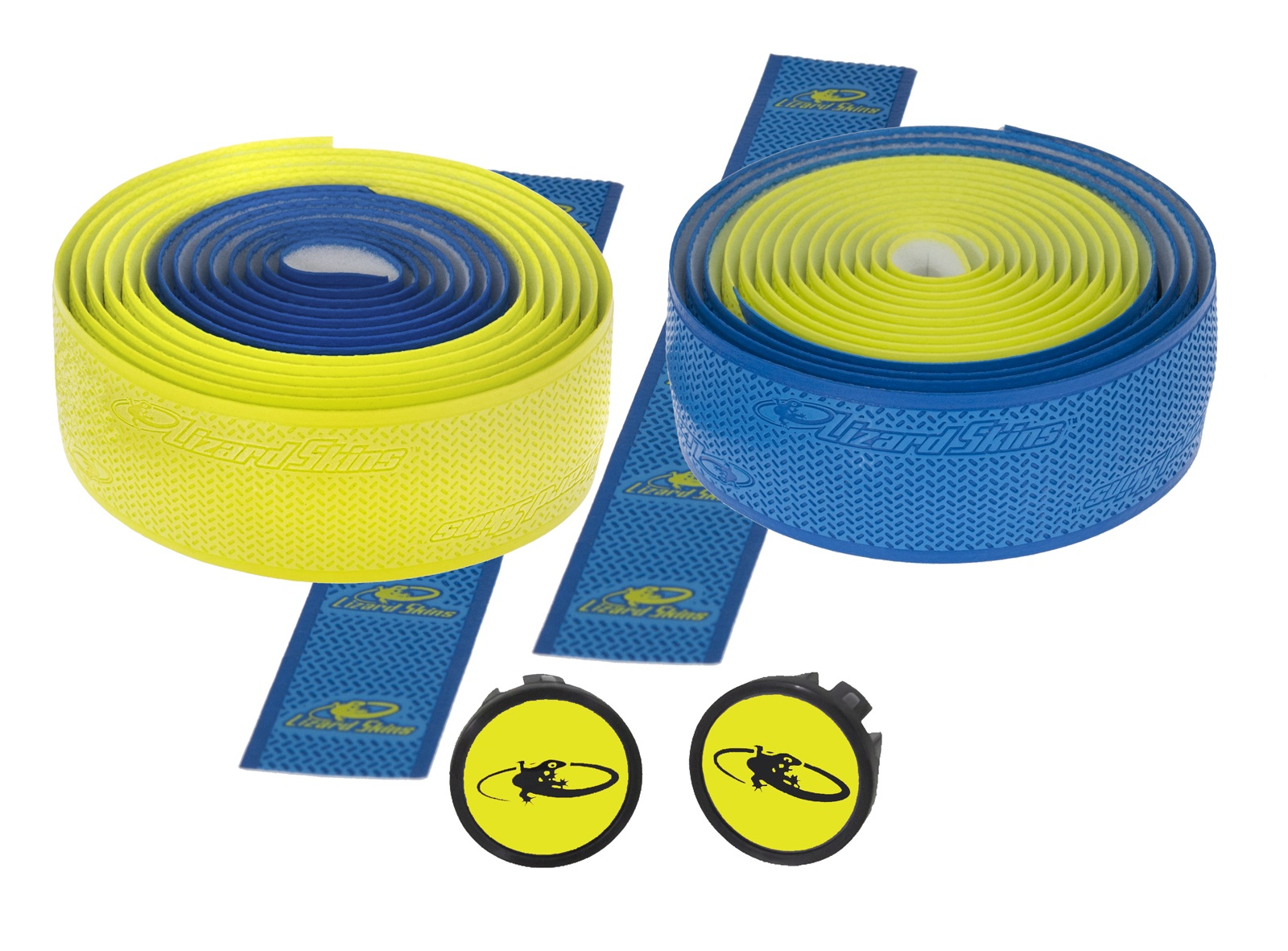 Lizardskins DSP 2.5 Handlebar Tape 2.5x208mm - Blue/Yellow