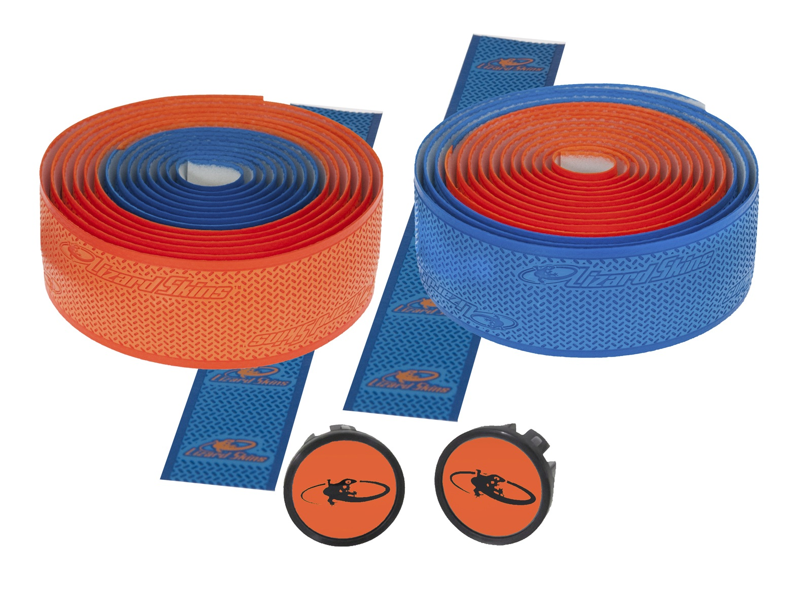 Lizardskins DSP 2.5 Handlebar Tape 2.5x208mm - Blue/Orange