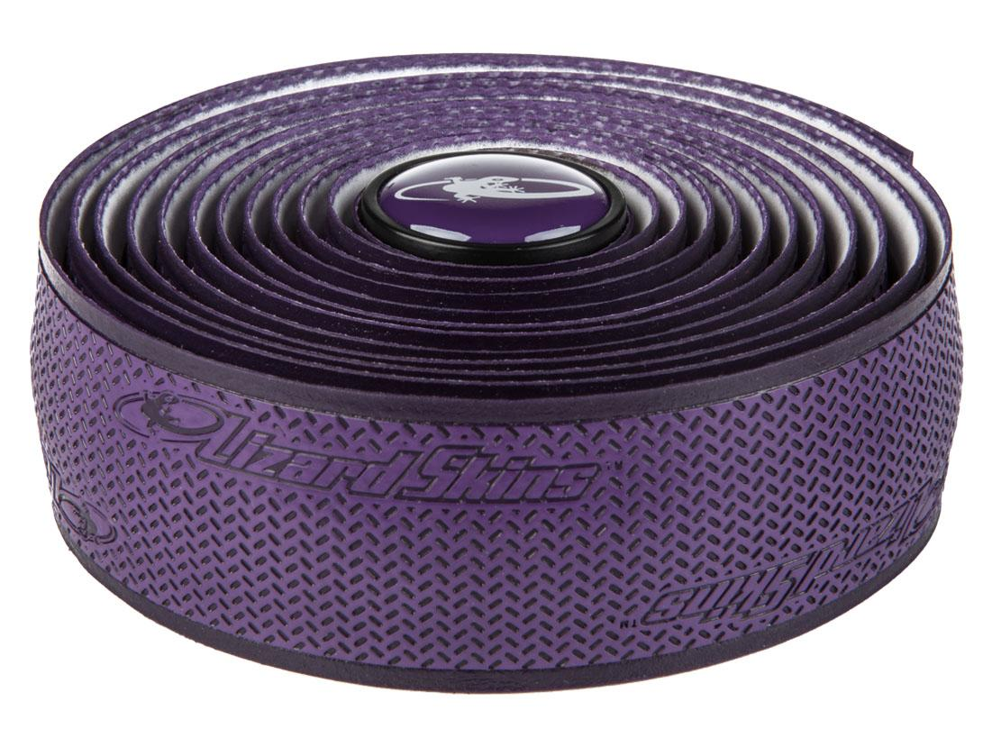Lizardskins DSP Handlebar Tape 2.5mm With Caps - Purple