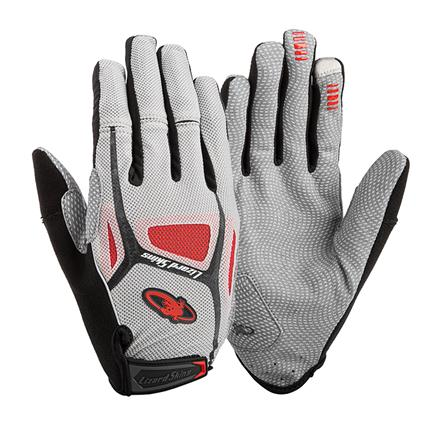 Lizardskins Gloves Monitor 1.0 Red - Size S