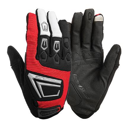 Lizardskins Gloves Monitor 2.0 Red - Size XXL