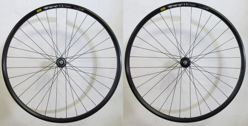 Mavic XM319 Wheelset 27.5 Inch 9/10S Disc RM66 - Black