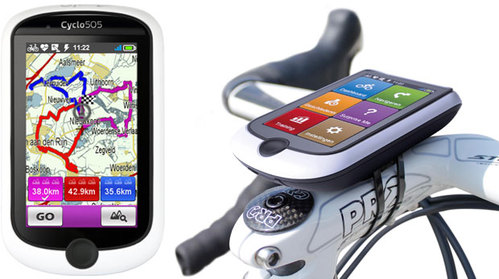 Mio Cycling Navigation System Cyclo 505HC W-Europe + Sensors