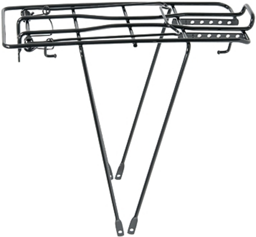Noxon Luggage Carrier Holland 24 Inch Steel Wire V-Leg Black