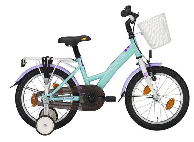 Noxon Candy Girls Bicycle 12 Inch - Mint/Lilac