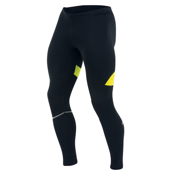 Pearl Izumi Running Trousers Fly Thermal Black/Yellow - XL