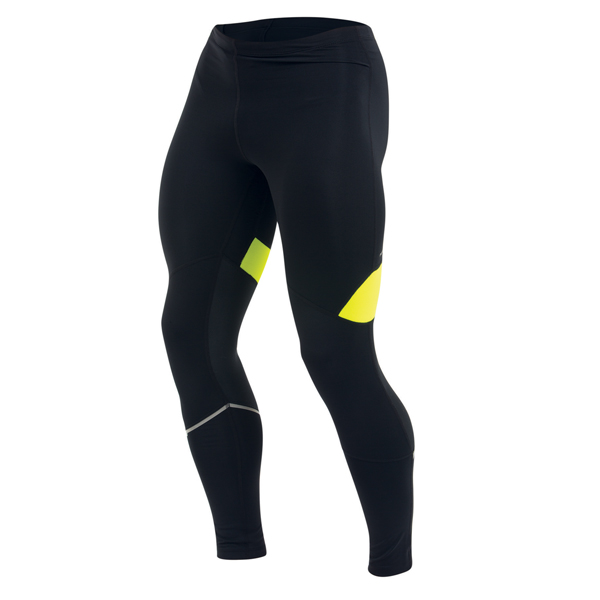 Pearl Izumi Running Trousers Fly Tight Black/Yellow - XL