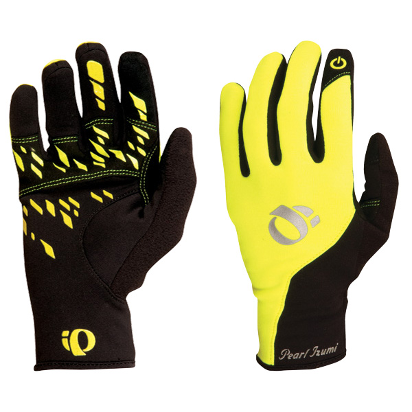 Pearl Izumi Winter Gloves Therm Conductive Yellow - XL
