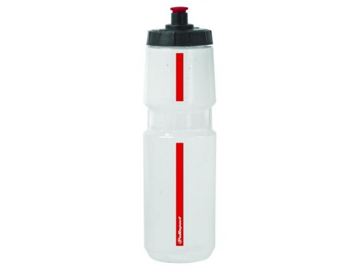 Polisport Water Bottle Transparent/Red - 700cc
