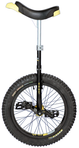 Qu-Ax Unicycle Muni 15 Inch Black