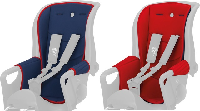 Römer Cushion for Jockey Relax Child Seat - Red/Blue
