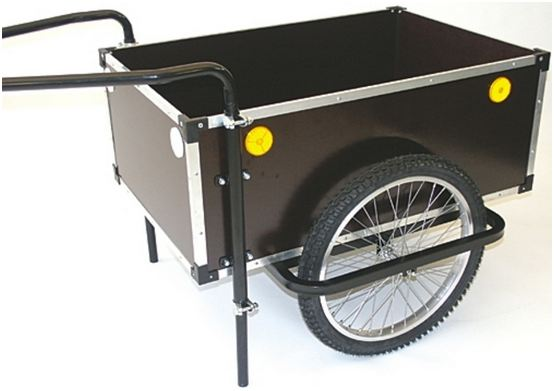 Roland Bicycle Trailer Jumbo 175L Height Adjustable Drawbar