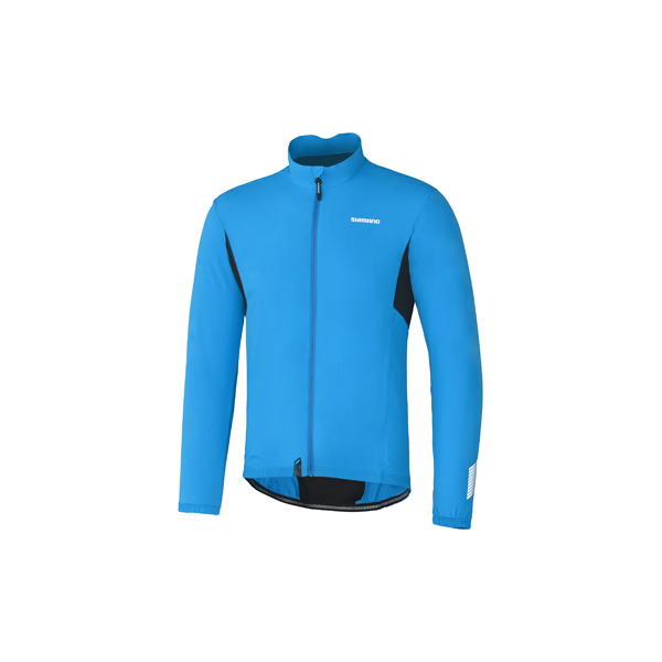 Shimano Compact Wind Jacket Blue - Size XL