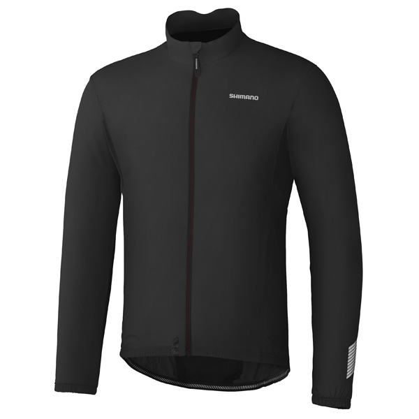 Shimano Compact Wind Jacket Black - Size XL