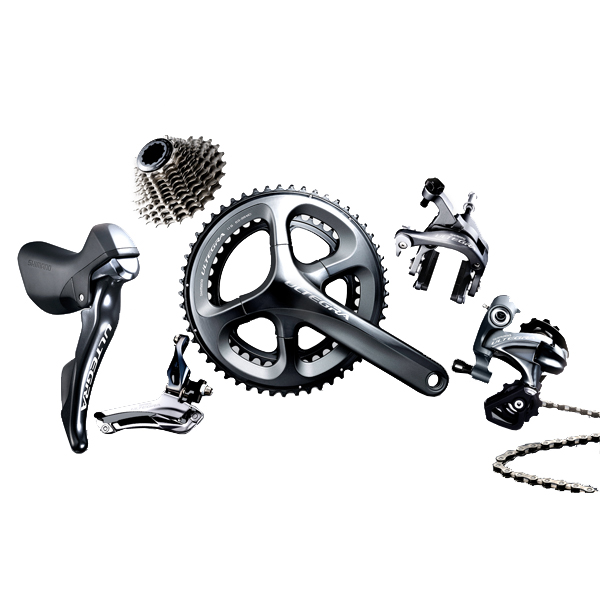 Shimano Groupset Ultegra 6800 11V 50/34T 172.5mm - Gray