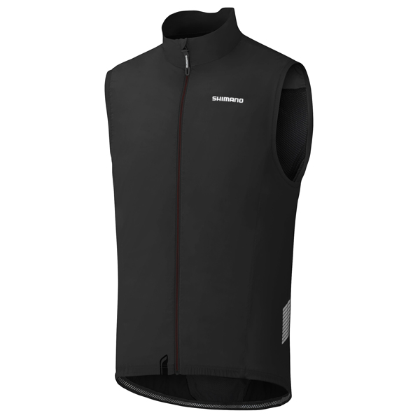 Shimano Performance Compact Wind Vest Black - Size XL