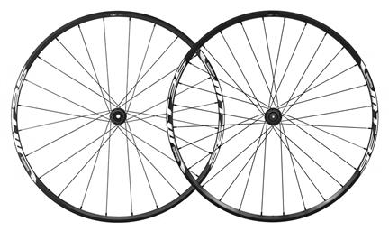 Shimano Wheelset WH-MT35 650B CL-Disc 15mm E-Thru/QR Black
