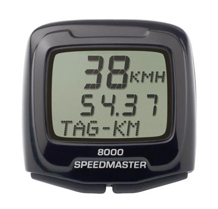 Sigma Cycle Computer Speedmaster 8000 - Wired 8 Functions