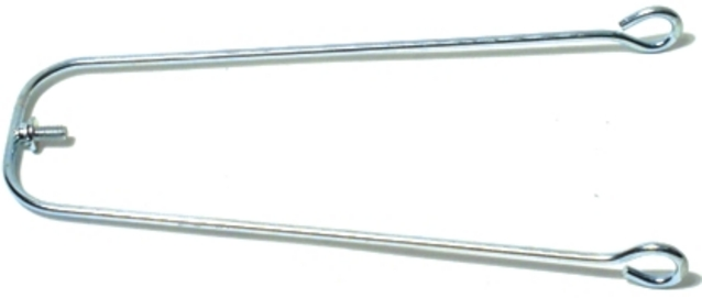 Fender Stays 325mm / 24 Inch Galvanized - Silver