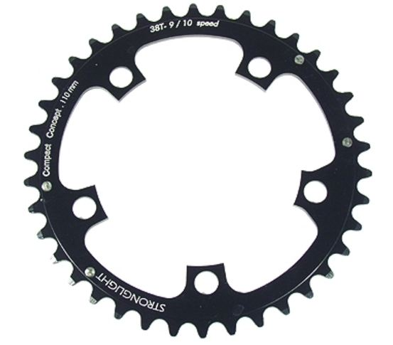 Stronglight Chainring 42 Teeth Black
