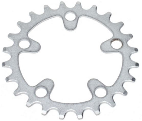 Stronglight Chainring Mtb 28 Teeth Silver
