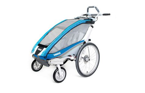 Thule Bicycle Trailer Cx 1 Blue Including Bicycle Set