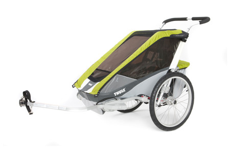 Thule Bicycle Trailer Cougar 1 + Bicycle Set - Avocado