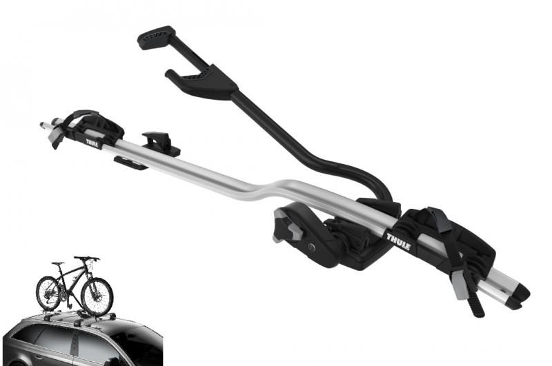 Thule ProRide 598 Roof Carrier - Silver