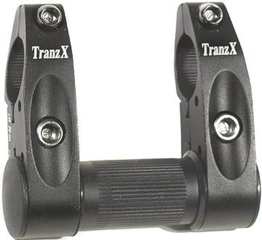 TranzX Double Clamp Adapter 360° Rotatable
