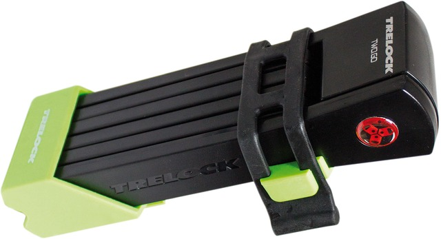 Trelock Folding Lock FS200/100 Two Go L 100cm - Green/Black