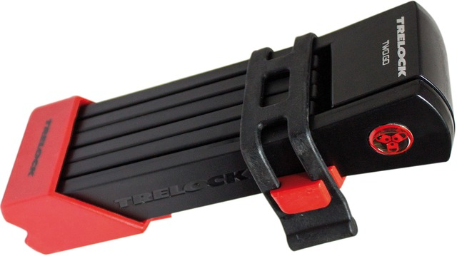 Trelock Folding Lock FS200/75 Two Go 75cm - Red/Black