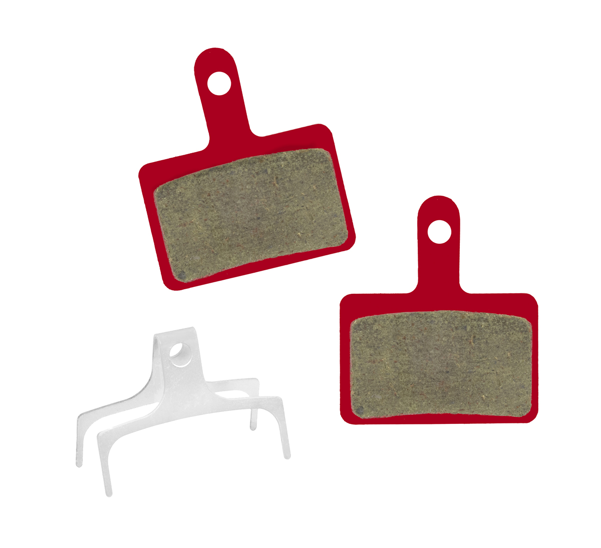 Trivio Organic Brake Pad for Shimano Deore Disc Brake - Red