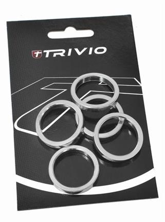 Trivio Spacer 5mm 1 1/8 Inch - Silver (5)
