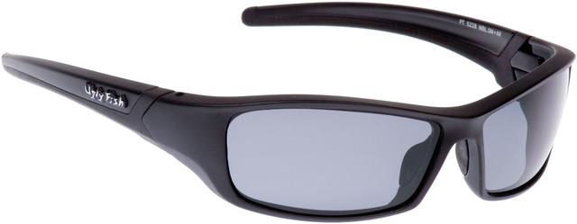 Ugly Fish RS5228 Sunglasses Smoke Glasses - Matt Black