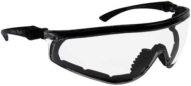 Ugly Fish RS5959+PS Sports Glasses Clear - Matt Black