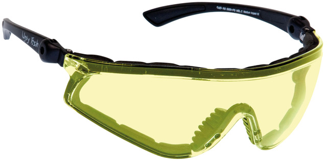 Ugly Fish RS5959+PS Sports Glasses Yellow - Matt Black
