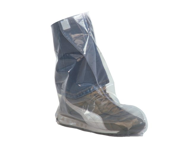 Disposable Rainshoes with Velcro Fastener - Size 41-48