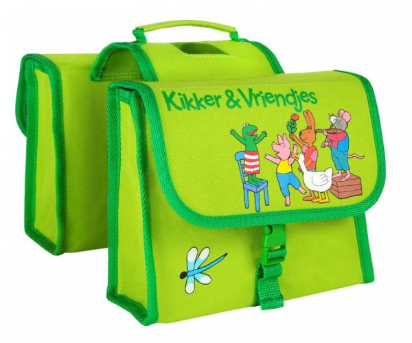 Willex Double Pannier Frog 7L Green