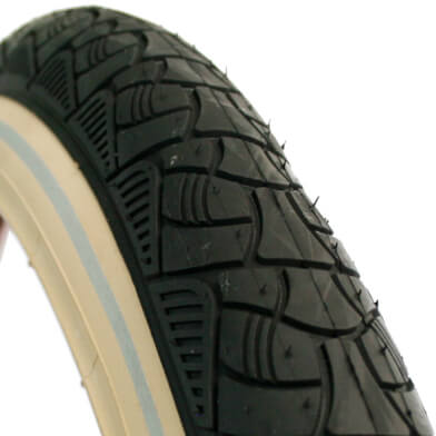Deli Tire 24 x 2.125 Reflection Black/Cream