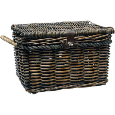 New Looxs Bicycle Basket Melbourne Wicker Medium Brown