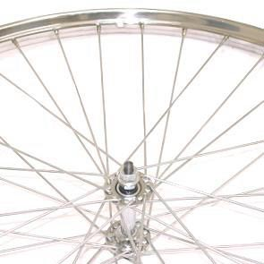 Front Wheel 28X1 1/2 Chrome