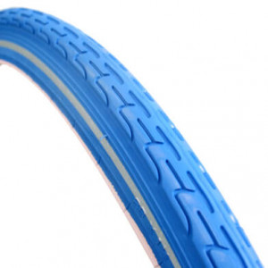 Deli Bicycle Tire 28X 1.75 Reflection Dark Blue