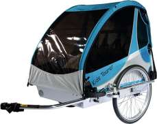 Kids Touring Bicycle Trailer Tourer L2 Blue/Silver